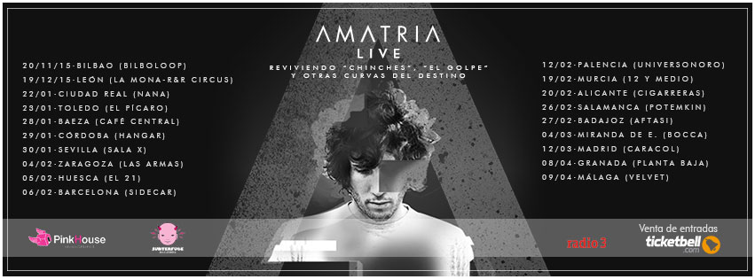 amatria live tour