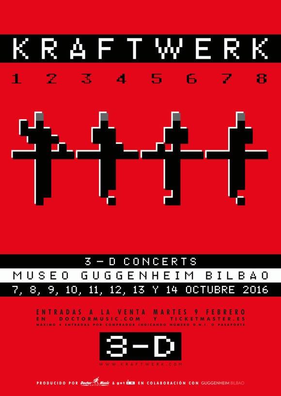 Cartel-Kraftwerk-Bilbao