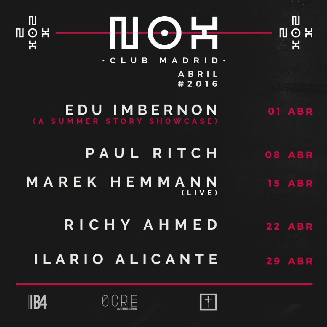 abril en nox club