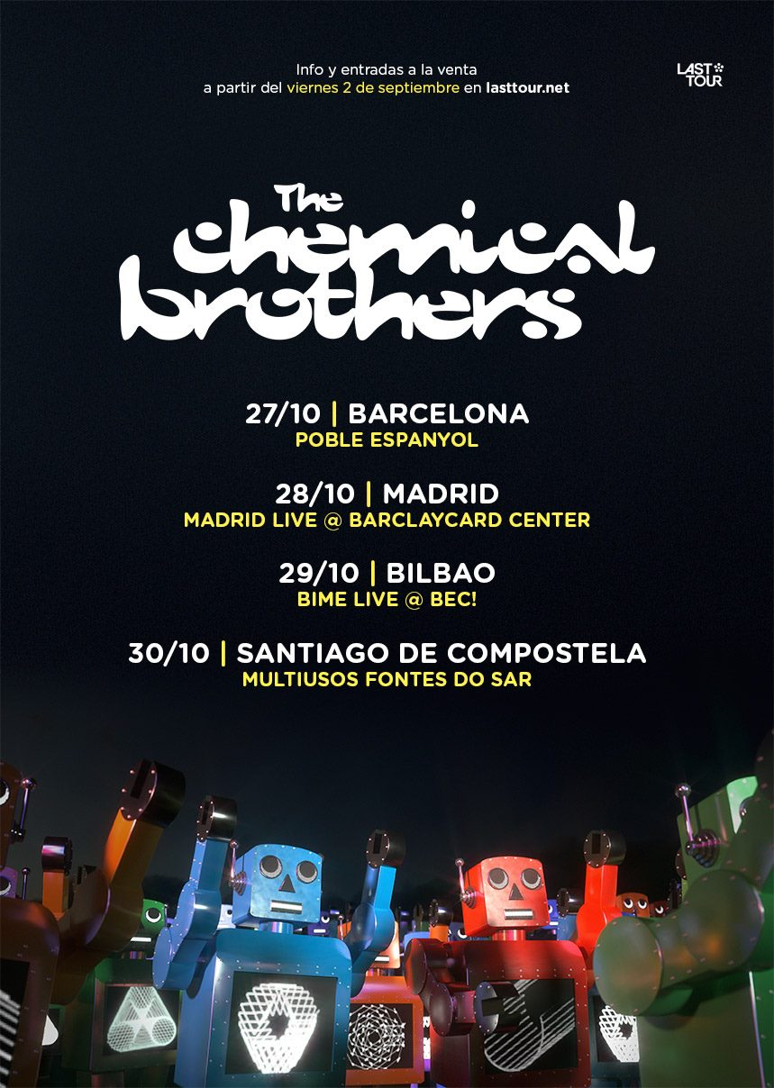 the chemical brothers españa