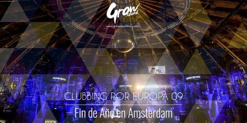 clubbing por europa fin de año en amsterdam