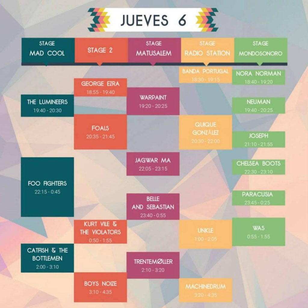 Jueves - Mad Cool 2017