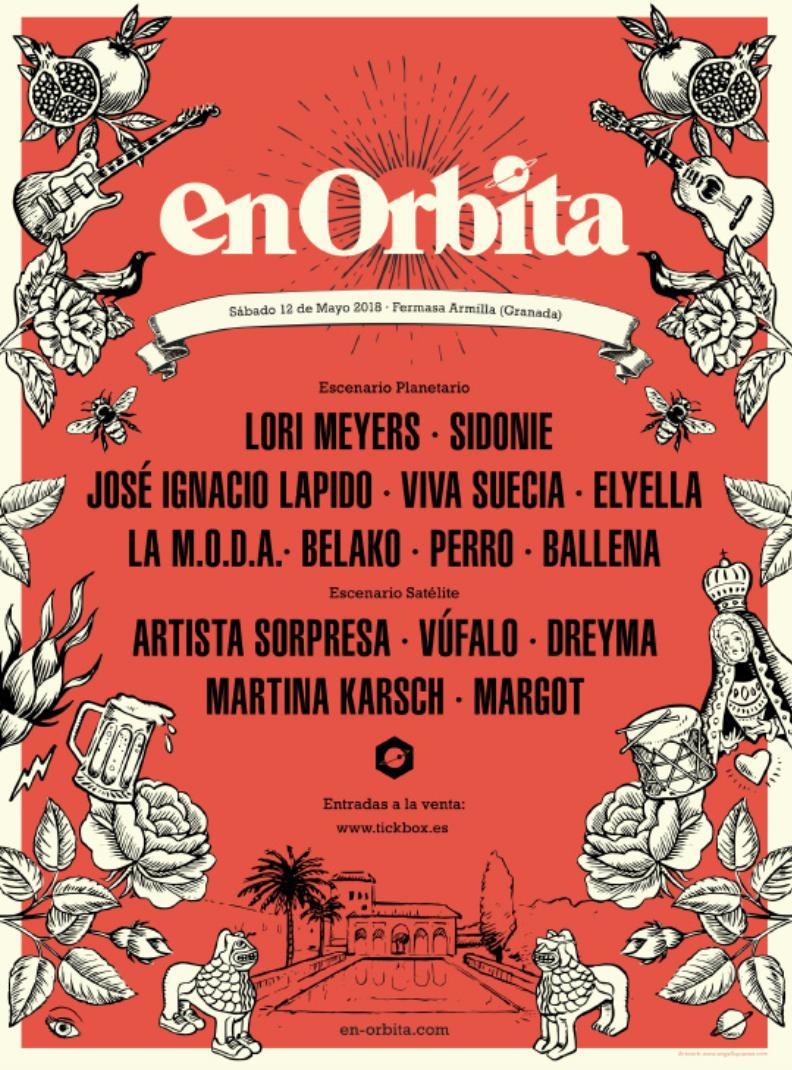 en orbita festival 2018 cartel completo