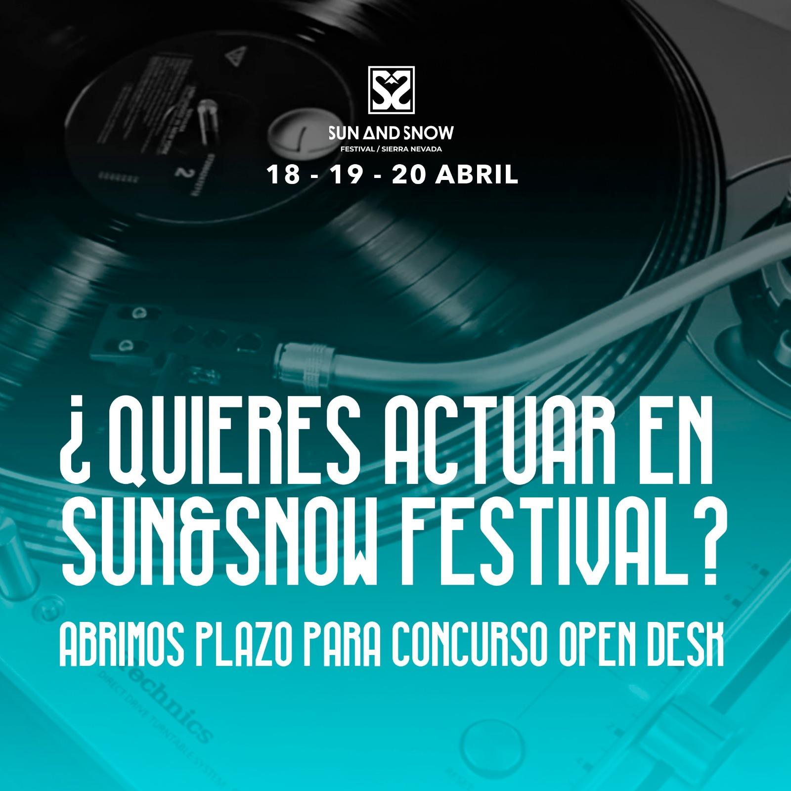 open desk sun and snow festival