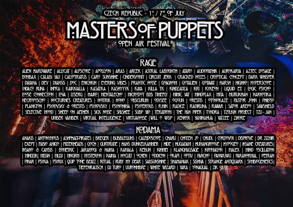 Masters of Puppets Festival