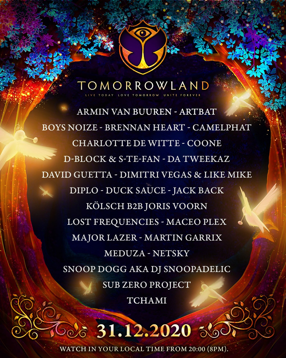 Tomorrowland nochevieja